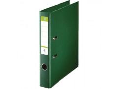 Папка-регистратор 50 мм, А4, ПВХ Эко, YESЛи,  цвет зеленый