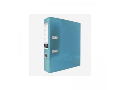 Папка-регистратор 80 мм, ламинированная, арт.IND 8 LA, цвет бирюзовый