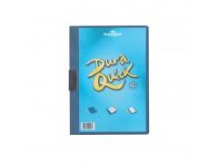 Папка DURAQUICK, Durable, с прозрачным верхним листом и клипом, на 20 листов, арт.2270, цвет синий