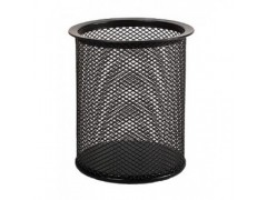 Стаканчик для пишущих принадлежностей металл Forpus, цвет черный