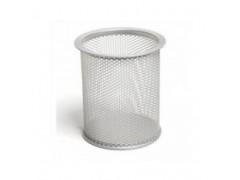 Стаканчик для пишущих принадлежностей металл Forpus, цвет серебро