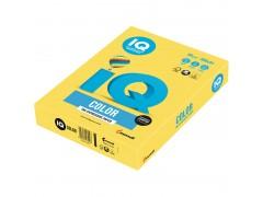 Бумага цветная IQ Color, цвет канареечно-желтый
