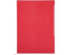 Папка-уголок Durable, A4, 180 микрон, глянец, полипропилен, цвет красный
