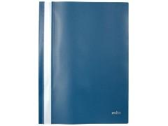 Папка-скоросшиватель, цвета ассорти, ф. А4, Index, цвет темно-синий