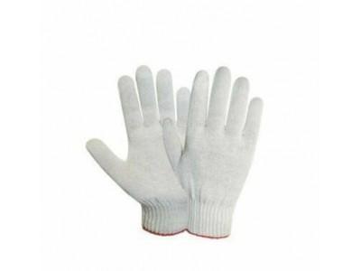 """Перчатки трикотажные """"Лайт"""" из 4-ти нитей 10 кл.вязки, цв.белый"""
