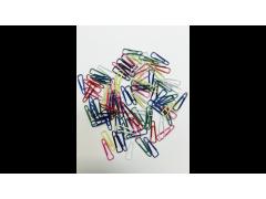 Скрепки 25мм, треугольные, флуоресцентные, в полиэтилен. уп., 100шт
