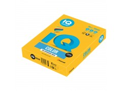 Бумага цветная IQ Color, цвет солнечно-желтый