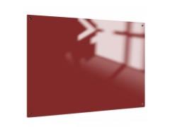 Доска стеклянная магнитно-маркерная Classic Boards BMG129, 120х90см, арт. GB1290, цвет красный
