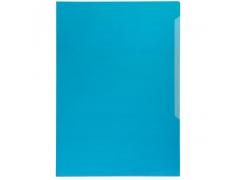Папка-уголок Durable, A4, 120 микрон, глянец, полипропилен, цвет синий