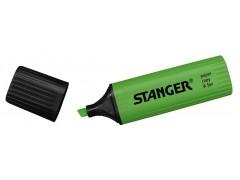 Текстмаркер STANGER, цвет зеленый