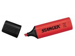 Текстмаркер STANGER, цвет красный