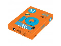Бумага цветная IQ Color, цвет оранжевый