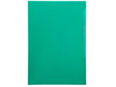Папка-уголок Durable, A4, 180 микрон, глянец, полипропилен, цвет зеленый