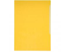 Папка-уголок Durable, A4, 180 микрон, глянец, полипропилен, цвет желтый