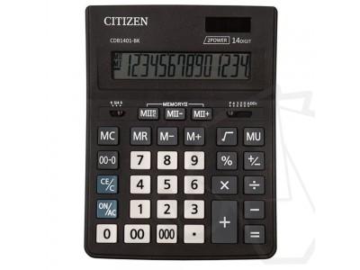 Калькулятор CITIZEN CDB-1401 BK