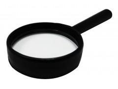 Лупа канцелярская, диаметр 40 мм, увеличение кратно 5, арт. 073000101