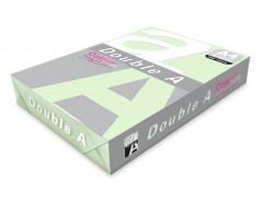 Бумага цветная DOUBLE A, А4, 80 г/м, зеленый (Emerald), 100 листов