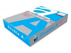 Бумага цветная DOUBLE A, А4, 80 г/м, 100 листов, цвет темно-синий