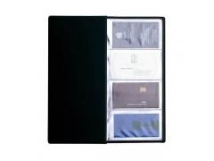 Визитница на 96 визиток, разм.12х24,5 см, PVC, арт. 03-1160-2, черный