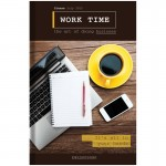 "Ежедневник недатированный, A5, 136л., 7БЦ OfficeSpace ""Офис. My office"", глянцевая ламинация Ен5т136_26918"