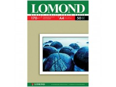 Бумага А4 для стр. принтеров Lomond, 170г/м2 (50л) гл.одн., арт. 0102142