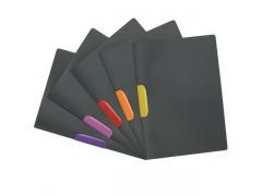 Папка DURASWING COLOR, Durable, с цветным клипом, цвет графит, цвет клипа ассорти, на 30 листов, арт.2304-00