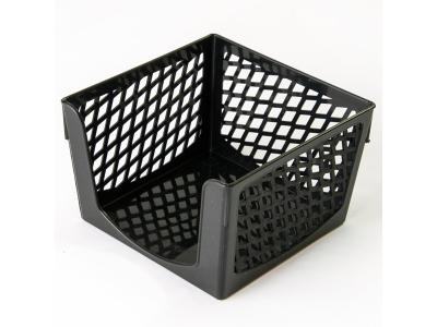 Подставка для бумажного блока, разм. 9х9х7 см, арт. SPB-997, цвет черный