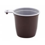 Чашка кофейная пластиковая Интеко, 50шт./уп.