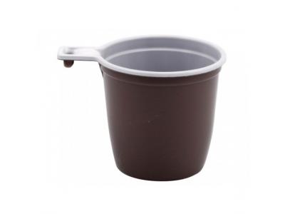 Чашка кофейная пластиковая, 50шт./уп.
