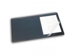 Подкладка настольная с прозрачным верхом, 40х53 см, черная, арт. 7202-01