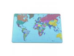 Подкладка настольная с картой Мира, 530х400 мм, арт. 7211-19