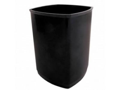 Стакан для канцелярских товаров ОФИС, чёрный