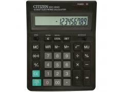 Калькулятор настольный,16 разр., дв. питание, две памяти, черный корпус, разм.199x153x30 мм, арт. SDC-664S