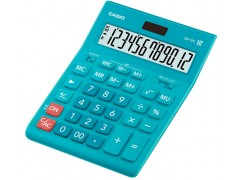 Калькулятор настольный Casio GR-12C-LB голубой 12-разр., арт. GR-12С-LB-W-EP