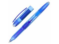 Ручка гелевая Silwerhof NO MISTAKES (016076-02) 0.7мм стираемая черные чернила +ластик коробка