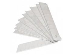 Лезвия для канцелярского ножа Silwerhof 461004 шир. леззв. 18 мм (упак. 10шт) пласт. кор.