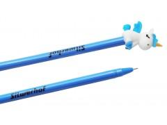Ручка гелевая Silwerhof UNICORN (026164-01) 0.5мм синие чернила