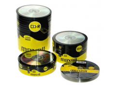 Диск CD-R 700Mb Maxell 52x в пленке по 100 шт