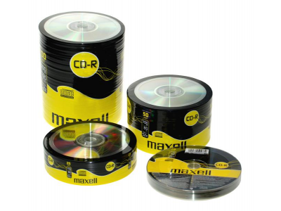Диск CD-R 700Mb Maxell 52x в пленке по 100 шт