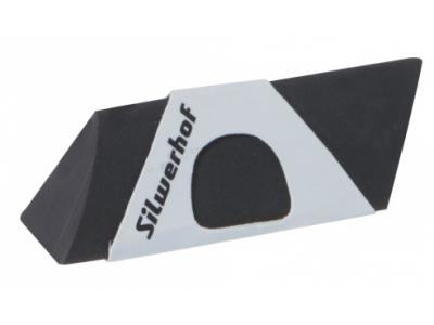 Ластик из синтетического каучука 181117 ПЛАСТИЛИНОВАЯ КОЛЛЕКЦИЯ, в бумажной обертке, цв. черный, кар