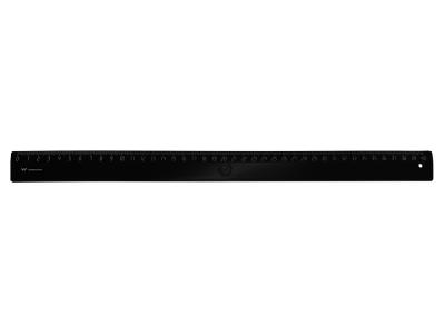 Линейка WORKMATE 40см, черная, пластиковая, арт. 182001201