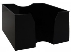 Подставка для бумажного блока 9х9х5, черная, арт. 045000501