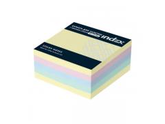 Бумага для заметок с липким слоем МИНИ-КУБ, разм. 51х51 мм, 5 цветов, 250 л., арт. I436801