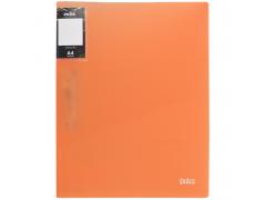 Папка с прижимным механизмом и карманом COLOURPLAY Light, ф.A4, 0,6мм, прозрачная, ассорти, арт. ICLC03/ASS