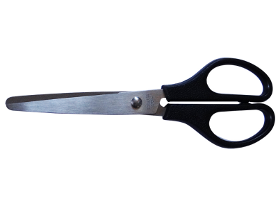 Ножницы, 17,0 см, цв.ручек черный, арт. 071001700