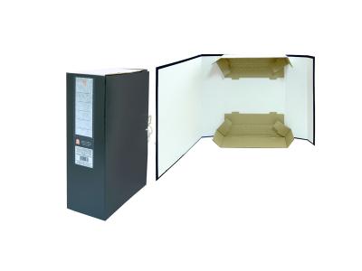 Короб архивный цельнокроенный на 2-х завяз.,разборный, SPONSOR, бумвинил, 120 мм цвет ассорти, арт. SBA-120