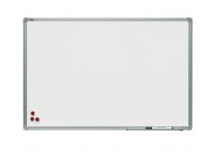 Доска информационная магнитно-маркерная, 180x120см, настенная, металл. рамка, индивид.короб, арт. TSA1218