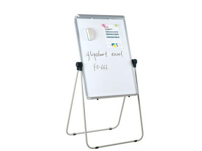 Флипчарт магнитно-маркерный, 70x100 см, мет. рамка, подставка с возмож-тью вращения на 360 градусов, арт. IWB-611