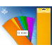 Цветная крепированная бумага 50х250 см, ассорти 10 цветов, 17 гр/см, растяжимость - 20 %, арт. TZ 10101