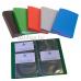 Визитница Бюрократ VZ120K (120 карточек) пластик ассорти